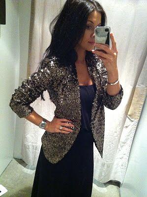 Zara sequin blazer, yeah I neeeeeeed this.