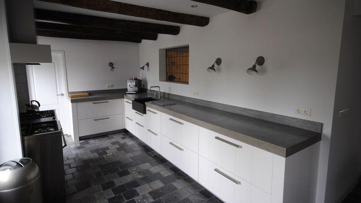 17 beste idee n over kleine landelijke keukens op pinterest eetkeuken kleine keuken ontwerpen - Decoratie kleine keuken ...