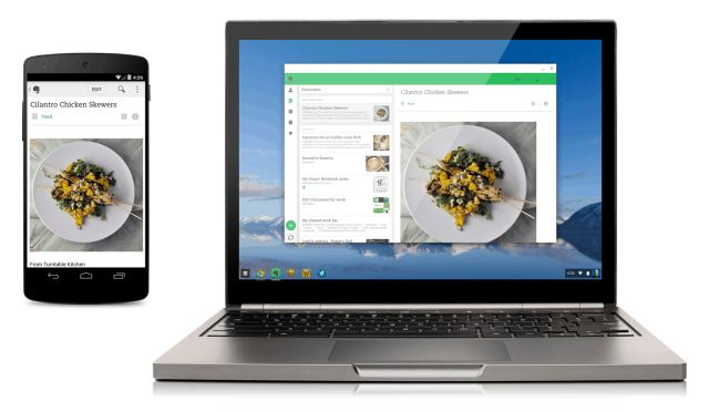 Google began paving the way last week for Android apps to begin coming over to ChromeOS, initially offering four Android apps – Vine, Evernote, Duolingo and Sight Words – but that merely whet the appetite for ChromeOS users hungry for more functionality. Now, developer Vladikoff, has released a tool which will let users port APK's over to CRX and begin running them on ChromeOS. The process uses the App Runtime for Chrome (Beta), released by Google last week, which is downloaded to compatible…