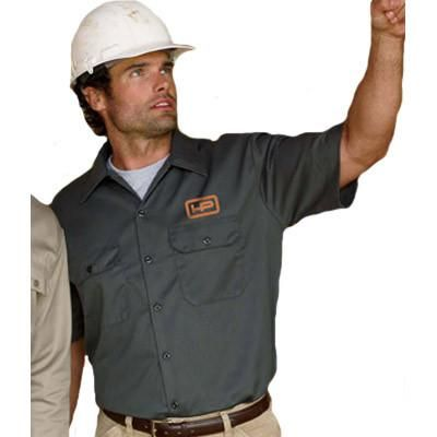 uy online at EZ Corporate Clothing, custom, logo embroidered men's Dickies workwear; personalized Dickies Eisenhower jackets and work shirts no minimum.