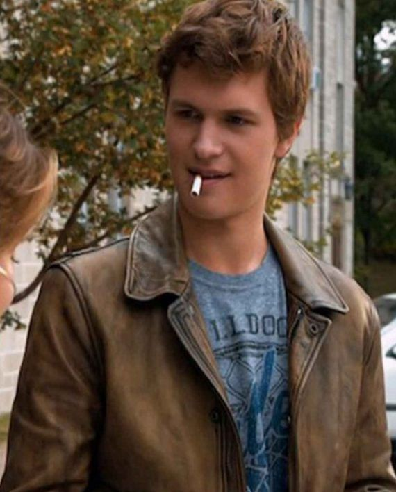 The Fault In Our Stars Leather Jacket
