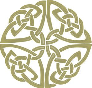 Celtic knot work - patterns that never end... eternal, like my life.