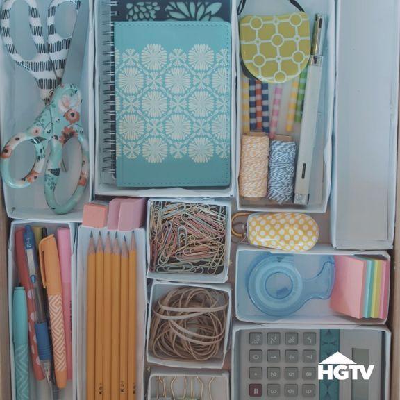Schubladen Organisieren