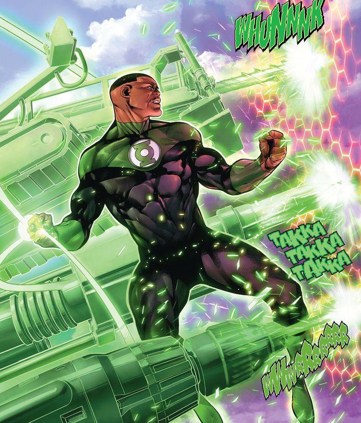 Green Lantern John Stewart by Rafa Sandoval