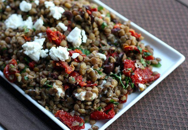 Mediterranean Lentil Salad by Elly Says Opa
