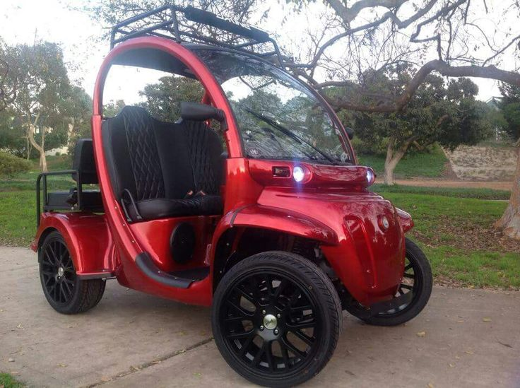 Custom gem car by Innovation Motorsports liftedgemcar