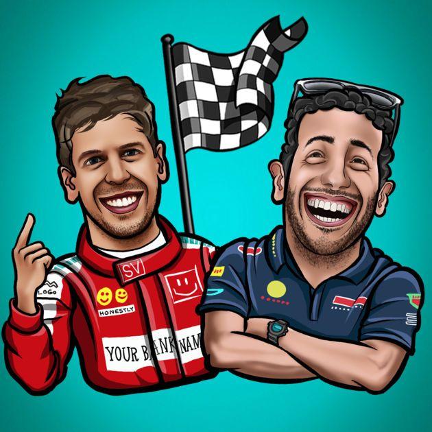 #NEW #iOS #APP Formula 1 drivers stickers from F1 motorsport fans - Milko Lilov