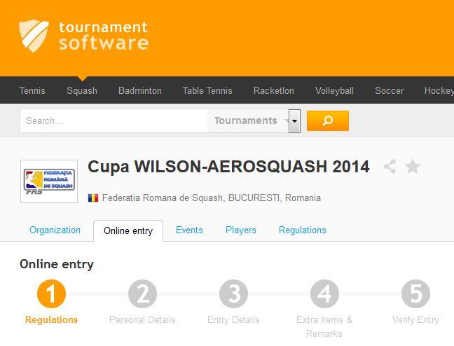 Cum sa te inscrii la competitie, pe tournamentsoftware.com. Tutorial pentru inscrierea in competitiile disponibile pe tournamentsoftware.com, postat in urma cererilor jucatorilor catre cluburile de squash organizatoare... http://www.squashmania.ro/cum-sa-te-inscrii-pe-tournamentsoftware-com/