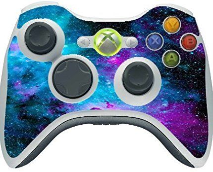 Nebula Galaxy Design Print Image Xbox 360 Wireless Controller Vinyl Decal Sticker Skin by Trendy Accessories available at https://www.amazon.com/dp/B01AAEQVSA #vinyldecalsticker #xbox360 #gamingcontrolleraccessories #nebula #galaxy #space
