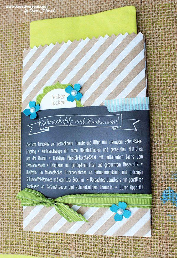 Servierttentasche, www.kreativersum.com