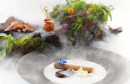 #GreatBritishMenu Quail in the Woods Recipe - Great British Chefs Colin McGurran 2012 Main