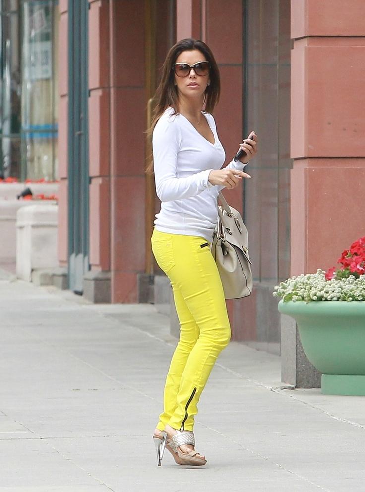 Eva Longoria spring street style