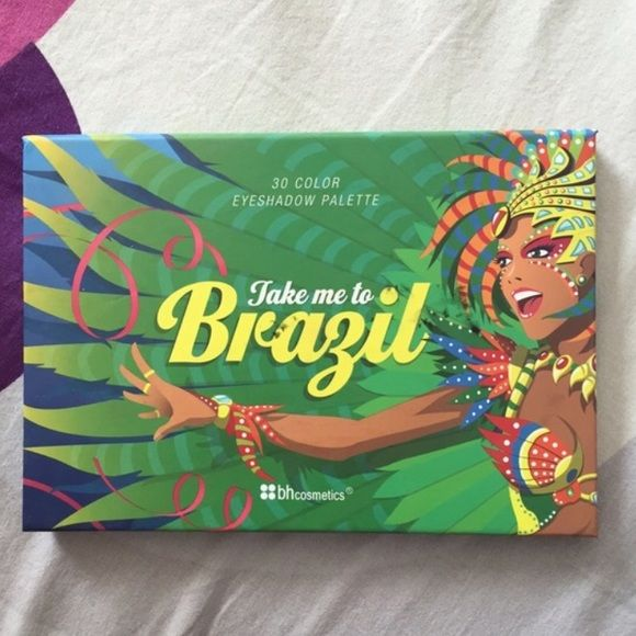 BH Take me to Brazil palette BH Cosmetics Take me to Brazil palette Bh cosmetics Makeup Eyeshadow