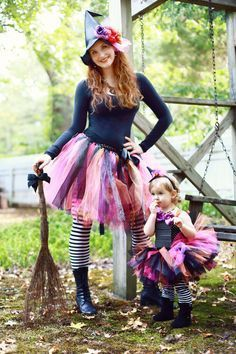 Witch Tutu Witch Costume Adult Witch Baby by willowlaneboutiques