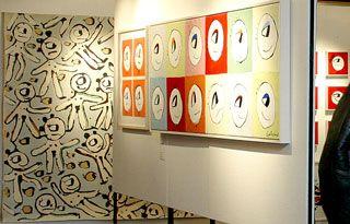 Konstutställning Sydkrafts konstförening