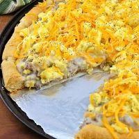 Breakfast Pizza For Dinner Recipe