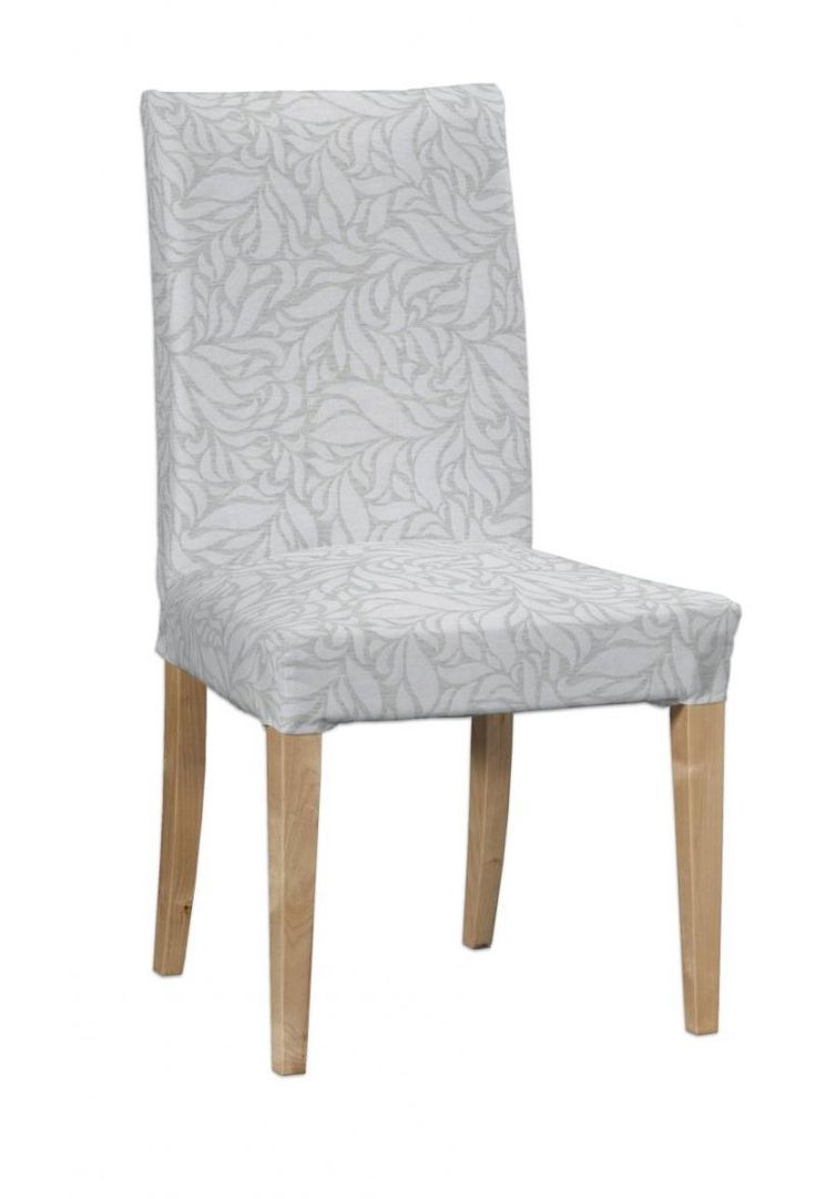 Henriksdal chair cover in collection Venice, fabric: 140-50