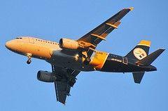Pittsburgh Steelers plane