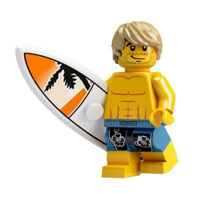 LEGO Minifigures Series 2 - Surfer