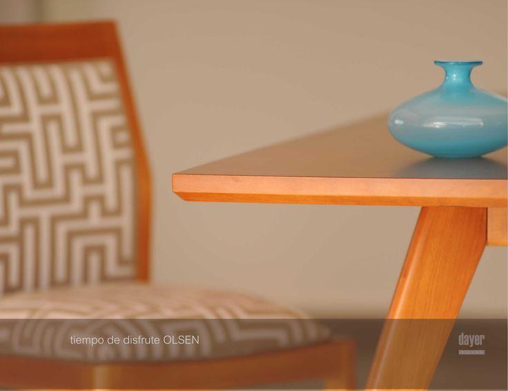 CATALOGO LINEA OLSEN - de Dayer Sillas Diseño: arn.salum.diseño Fotografía: Luis Simes Encontrá estos productos en MANIFESTO