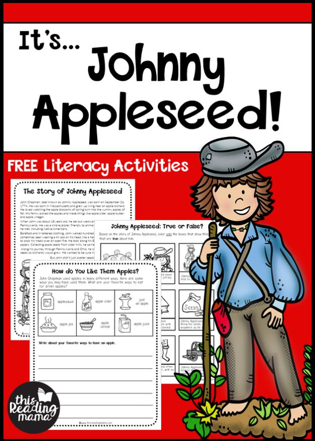 Kid Friendly Facts About Johnny Appleseed