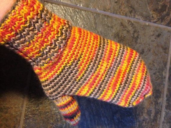 Mittens Gloves Hand Knitted Mittens 100% wool  Warm by olinnell