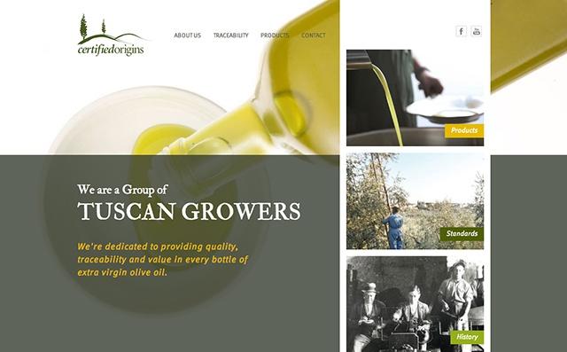 Website design: Certified Origins