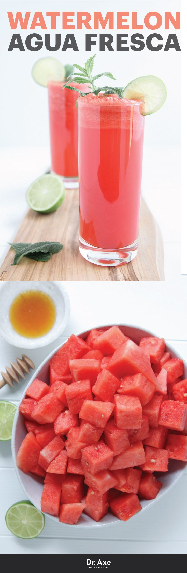The Perfect Summer Drink - Watermelon Agua Fresca