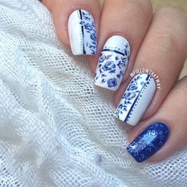 419 best Floral Nails and Makeup images on Pinterest ...