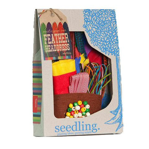 Create Your Own Feather Crown – Seedling
