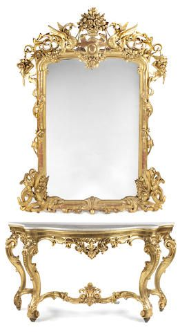 147 best images about 18th century rococo on pinterest for Floor mirror italian baroque rococo style