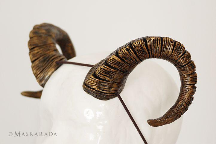 Ram horns by Maskarada - Masks & More
