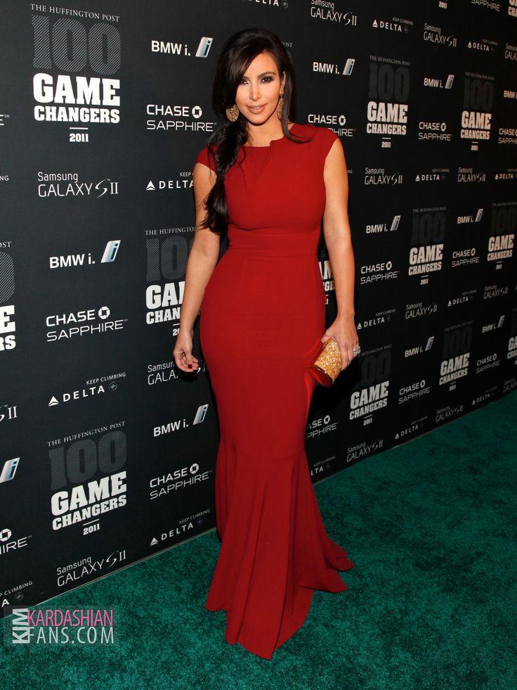 red dress kim kardashian