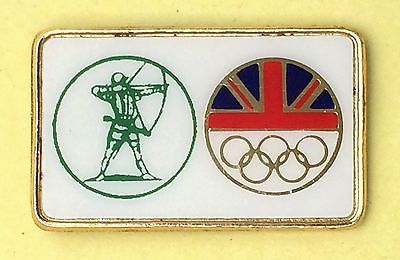 G.n.a.s. #olympic #archery appeal moscow 1980 - uk - enamelled #archery pin #badge,  View more on the LINK: 	http://www.zeppy.io/product/gb/2/371617276754/