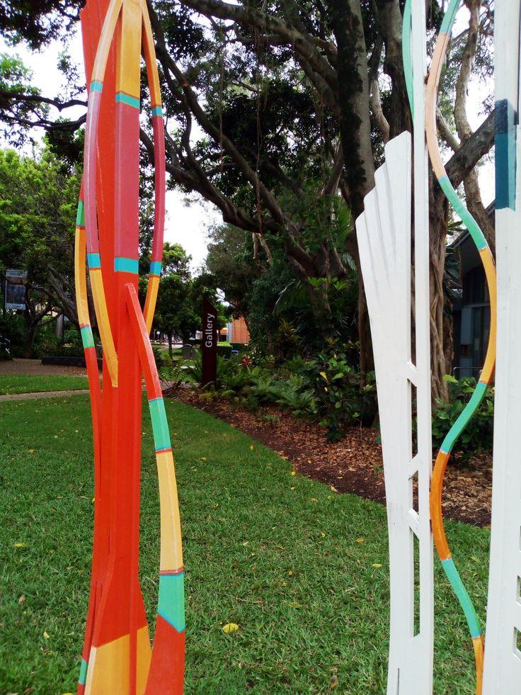 The Sunshine Coast Regional Art Gallery in Caloundra has world class exhibitions.