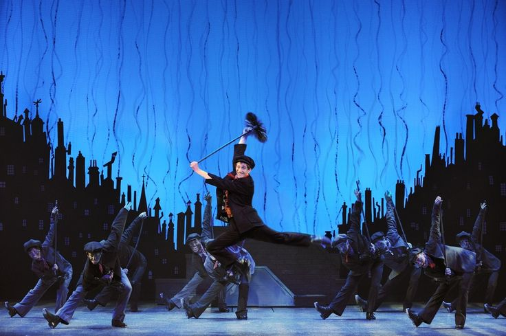 "Disney's elaborate, touring ""Mary Poppins"""