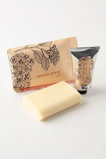 Printed & Folded Soap - Anthropologie.com