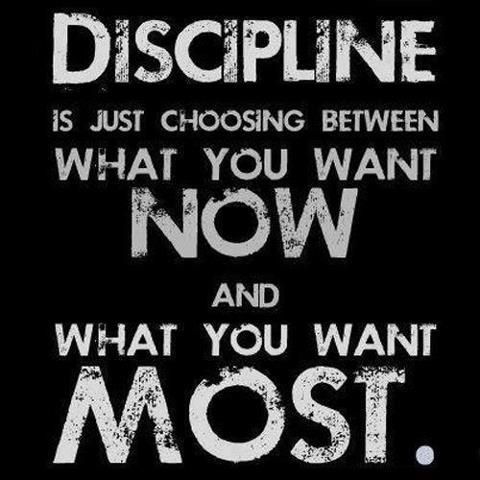 Motivation to stay healthy takes discipline and self control. For 2013, I…
