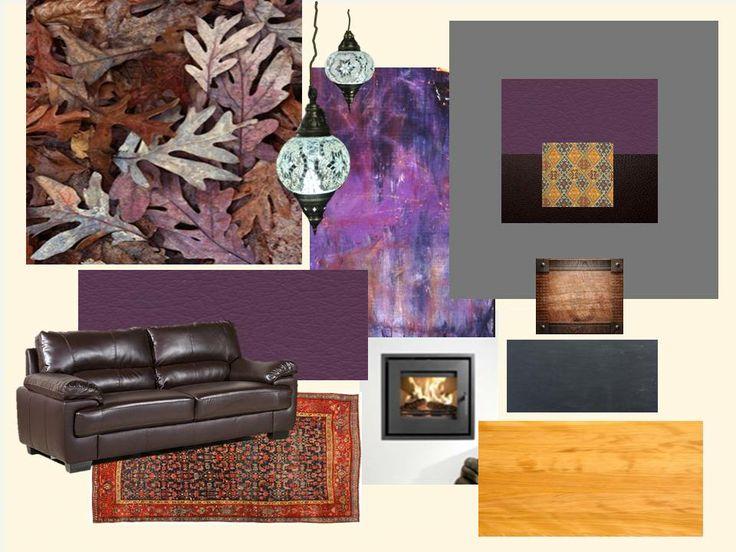 1. Purple Room - Mood Board