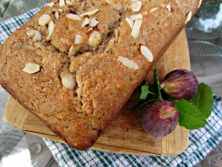 fresh fig and almond quick bread figs bread bread 3pp full board bread ...