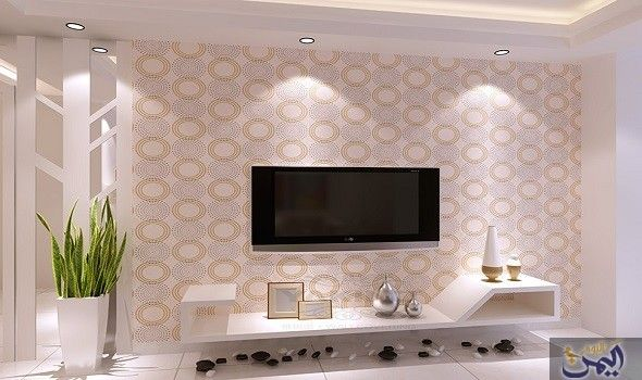جددي منزلك بأجمل نقوشات ورق الجدران وتجنبي الأخطاء Living Room Decor Apartment Apartment Decor Home Decor