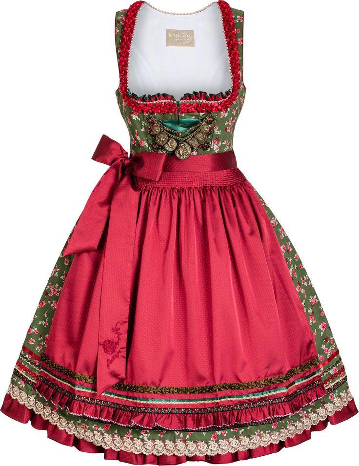 Mit dem Luxus Dirndl Rosenkönigin sind Sie zu jedem festlichen Anlass gut gekleidet! Exklusive Dirndl Mode online: versandkostenfrei & auf Rechnung!