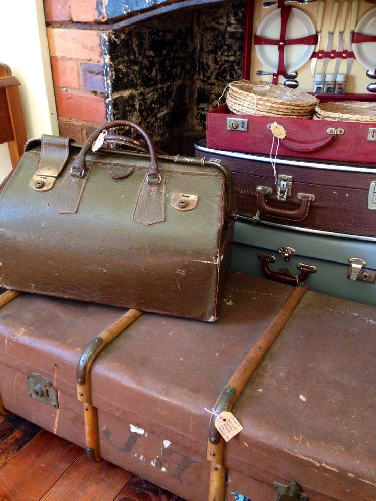 Rust Emporium~vintage suitcases