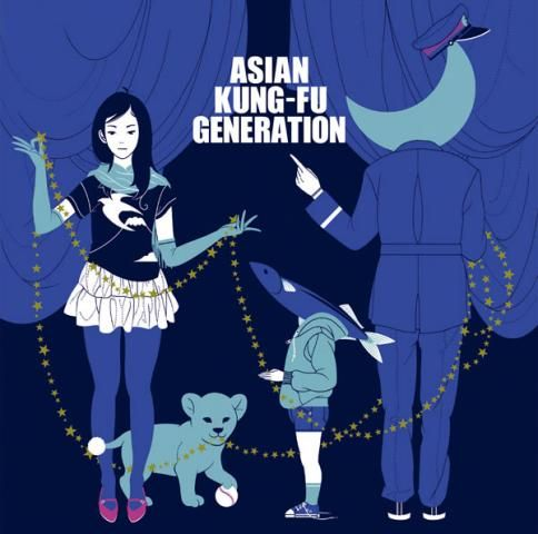 Asian Kung Fu Generation Art.
