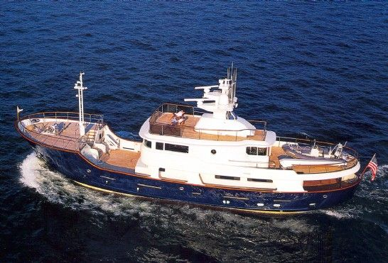 Explorer Yacht Broker Report, 100 foot Expedition Yacht for Sale- Romsdal built Discovery.