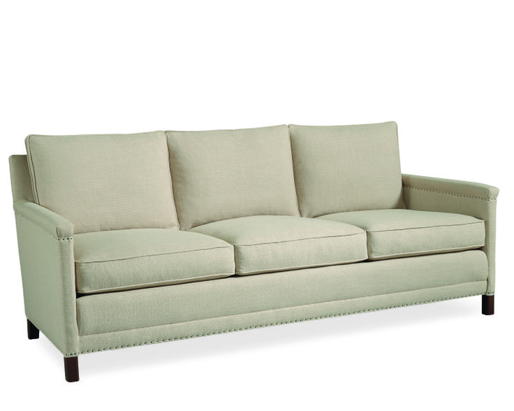 Lee Industries Sofa In Hunter Flax