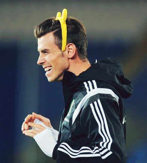 Gareth Bale. LOOOL. Gotta still love him though.♡