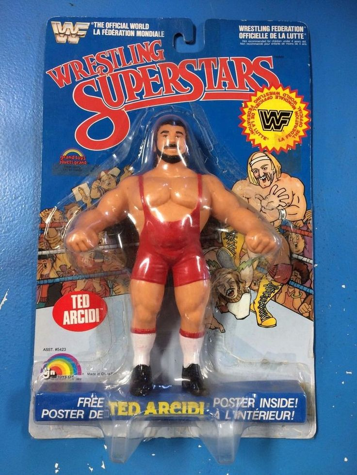 LJN WWF Ted Arcidi MOC Canadian Card Check out all 23 of my LJNs! #LJN