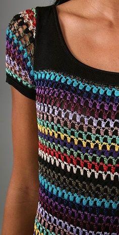 Crochet using tank top | best stuff