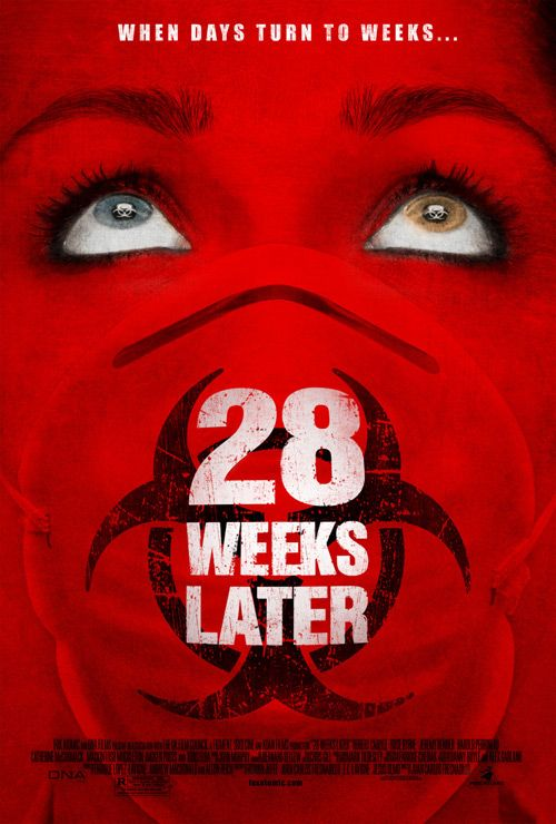 """28 Weeks Later"", post-apocalyptic science fiction horror film by Juan Carlos Fresnadillo (UK, 2007)"